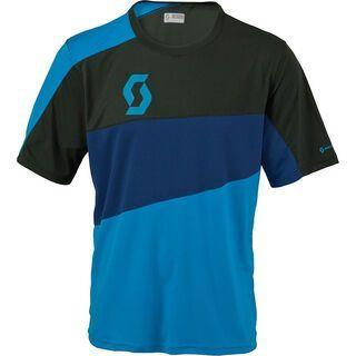 Scott Path 30 s/sl Shirt, blue/blue depths - Radtrikot