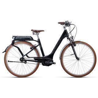 Cube Elly Cruise Hybrid Easy Entry 2015, black/white - E-Bike