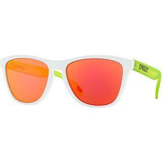 Oakley Frogskins Prizm, matte white/Lens: prizm ruby - Sonnenbrille