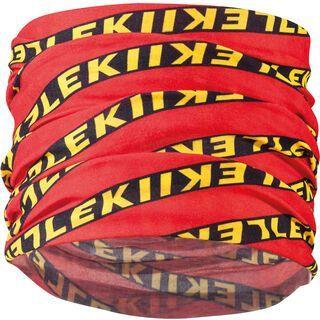 Leki Multiscarf, red/black/yellow - Multifunktionstuch
