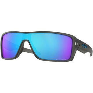 Oakley Ridgeline Prizm Polarized, matte grey smoke/Lens: prizm sapphire polarized - Sonnenbrille
