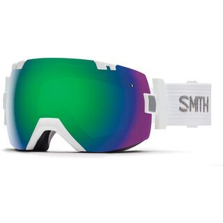 Smith I/Ox inkl. Wechselscheibe, white /Lens: green sol-x - Skibrille