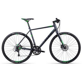 Cube SL Road Pro 2015, anthrazit black green - Fitnessbike