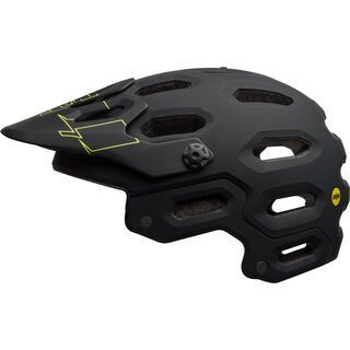 Bell Super 3 MIPS, black/retina sear - Fahrradhelm