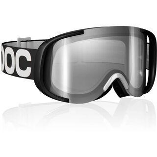 POC Cornea, Black/White/Silver mirror - Skibrille