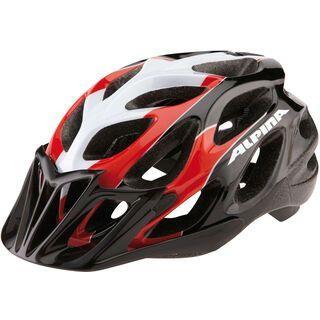 Alpina Thunder, red-black - Fahrradhelm