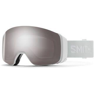 Smith 4D Mag, white vapor/Lens: cp sun platinum mir - Skibrille