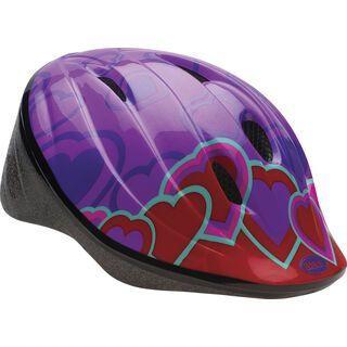 Bell Bellino, color block hearts - Fahrradhelm