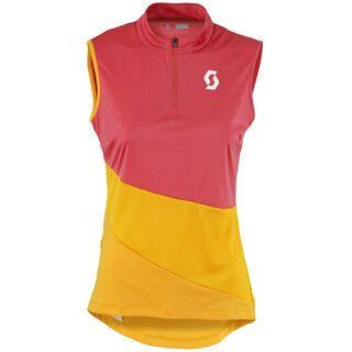 Scott Womens Trail Flow w/o sl Shirt, pink orange - Radtrikot