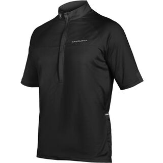 Endura Xtract II Jersey, schwarz - Radtrikot