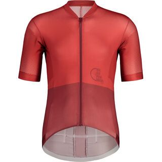 Maloja PushbikersM. Race 1/2, red monk - Radtrikot