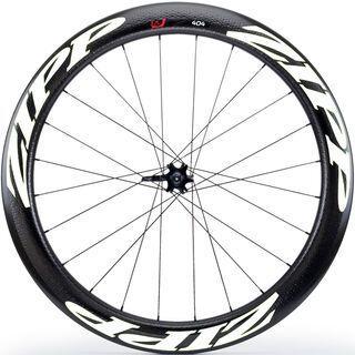 Zipp 404 Firecrest Tubular Disc-brake, schwarz/weiß - Vorderrad