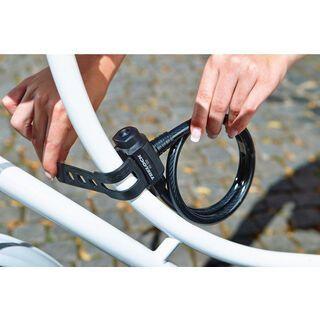 Trelock KS 211 Fixxgo Kids Kabelschloss, black