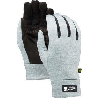 Burton Touch N Go Liner, heathered gray - Unterziehhandschuh