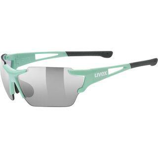 uvex sportstyle 803 race vm, mint/Lens: variomatic litemirror silver - Sportbrille