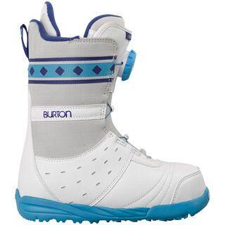 Burton Chloe, White/Blue - Snowboardschuhe