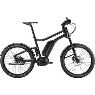 *** 2. Wahl *** Cannondale Contro-E Rigid 2016, black - E-Bike   Größe L // 54 cm