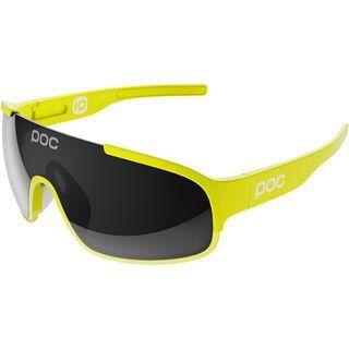 POC Crave inkl. Wechselscheibe, unobtanium yellow/Lens: grey - Sportbrille