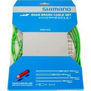 Shimano Bremszug-Set Dura-Ace polymerbeschichtet, grün