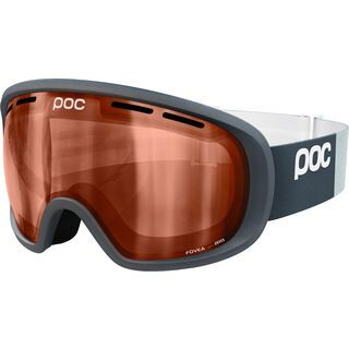 POC Fovea, silver grey/Lens: sonar orange - Skibrille