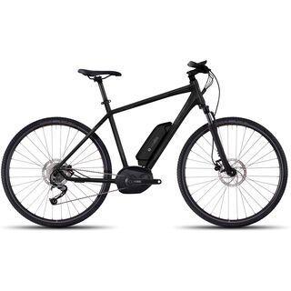 Ghost Hybride Andasol Cross 2 2017, black/gray - E-Bike