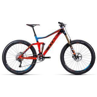 Cube Stereo 160 Super HPC Team 27.5 2015, action team - Mountainbike