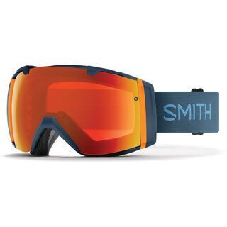 Smith I/O inkl. Wechselscheibe, high fives/Lens: chromapop everyday red mirror - Skibrille