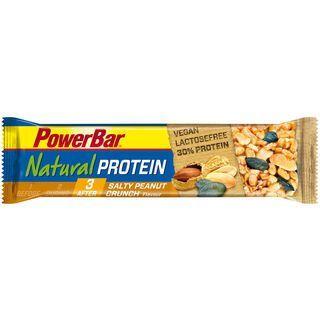 PowerBar Natural Protein (Vegan) - Salty Peanut Crunch - Proteinriegel