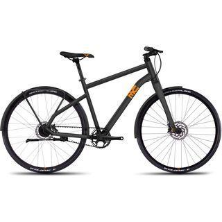 Ghost Square Urban 6 2016, gray/orange - Urbanbike