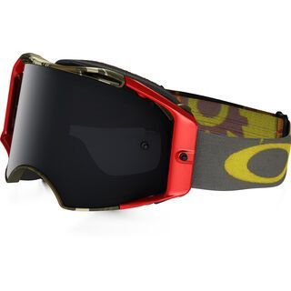 Oakley Airbrake MX, scorpions/Lens: dark grey - MX Brille