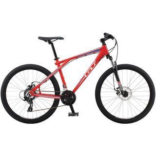 GT Aggressor 2.0 2014, matte red - Mountainbike