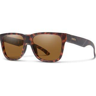 Smith Lowdown 2, matte tortoise/Lens: cp polarized brown - Sonnenbrille