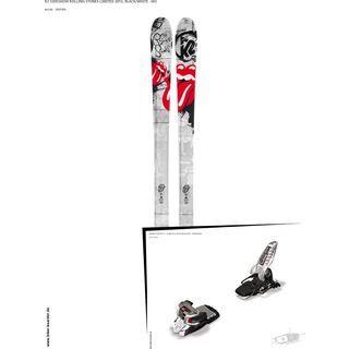 K2 SKI Set: Sideshow Rolling Stones Limited 2013 + Marker Griffon 13