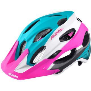 Alpina Carapax, blue pink white - Fahrradhelm