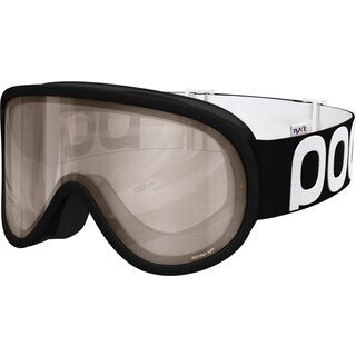 POC Retina NXT Photo, black/Lens: brown silver mirror - Skibrille