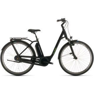 Cube Town Hybrid Pro 500 2020, black´n´green - E-Bike