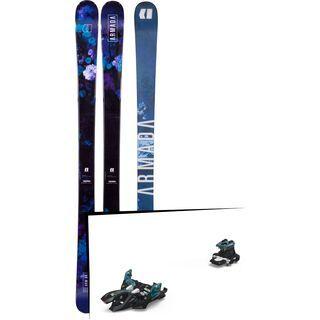 Set: Armada Arw 84 2018 + Marker Alpinist 9 black/turquoise