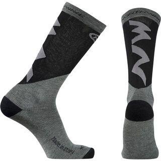 Northwave Extreme Pro High Socks, grey/black - Radsocken