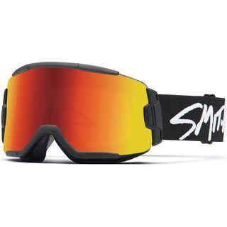 Smith Squad, black/Lens: red sol-x mirror