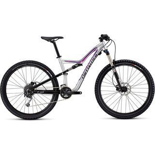 Specialized Rumor 650b 2016, silver/black/pink - Mountainbike