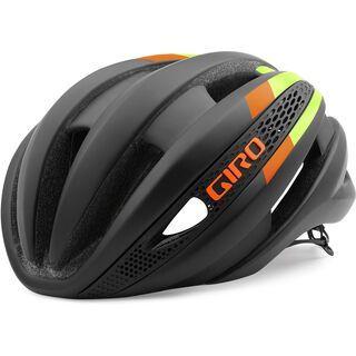Giro Synthe, matte black lime flame - Fahrradhelm