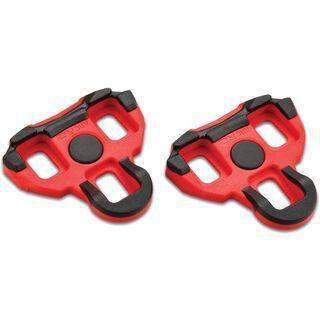 Garmin Vector Ersatz Schuhplatten (6° Float), rot