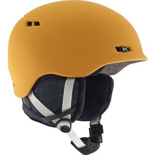 Anon Griffon, curry yellow - Snowboardhelm
