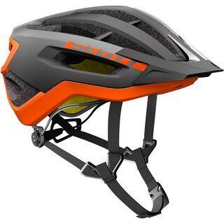 Scott Fuga Plus Helmet, grey/orange - Fahrradhelm