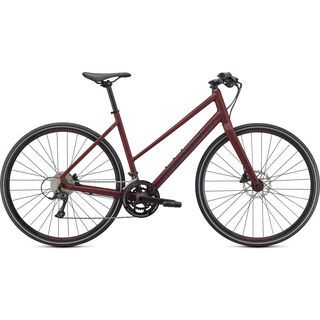 Specialized Sirrus 3.0 Step-Through satin maroon / gloss maroon / satin black reflective 2021