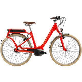Cube Travel Hybrid Pro Easy Entry 2014, spicy orange/white - E-Bike