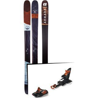 Set: Armada Tracer 108 2019 + Marker Kingpin 10 black/copper