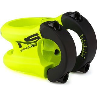 NS Bikes Quantum Small Stem, lemon lime - Vorbau