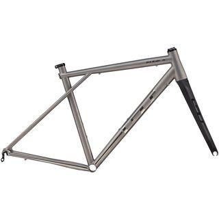 GT Edge Ti Frame Set 2014, titanium - Fahrradrahmen