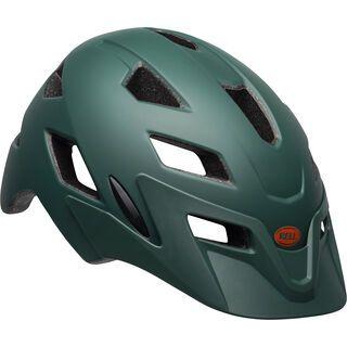 Bell Sidetrack Youth, dark green/orange - Fahrradhelm
